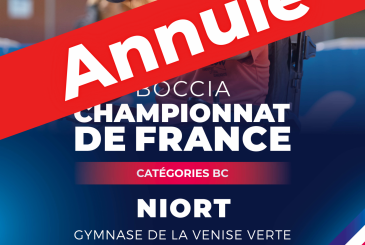 Championnat de France BC 2021 annulé